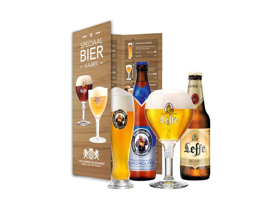 Speciale bierkaart